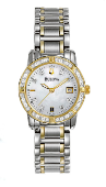 Employee Recognition Watch - Ladies diamond watches 98R107