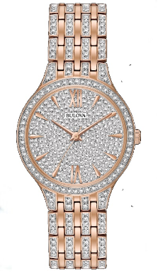 Employee Recognition Watch - Bracelet - Bulova Ladies Watch 98L235
