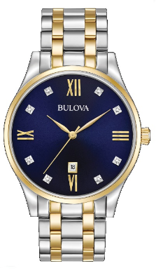 Employee Recognition Bulova Watch - Bulova Men's Watches 98D130