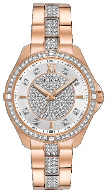 Employee Recognition Watches - Bracelet - Bulova Ladies Watch 98L229