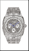 Employee Recognition Watch - Crystal - Bulova Men's Watches 96C002