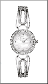 Employee Recognition Watch - Bulova Crystal - Ladies Watch 98L197