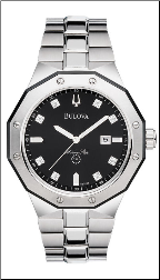 Employee Recognition Marine Star Watch - Bulova Men's Watches 98D103