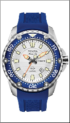 Employee Recognition Marine Star Watch - Bulova Men's Watches 98B208