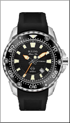 Employee Recognition Marine Star Watch - Bulova Men's Watches 98B209