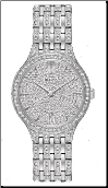 Employee Recognition Watch - Crystal - Bulova Ladies Watch 96L243