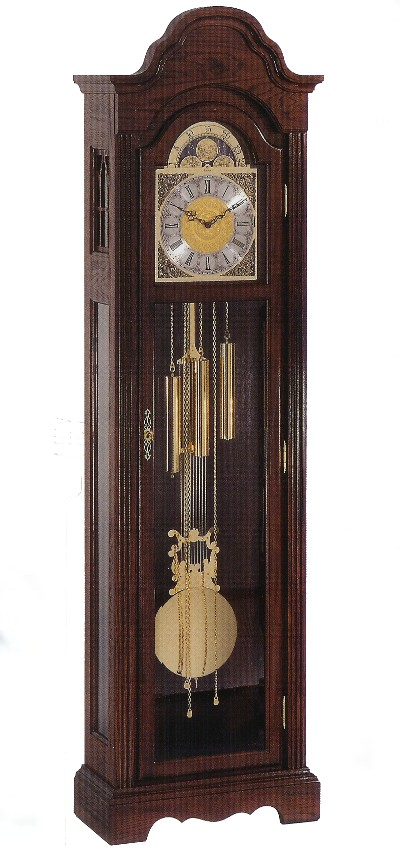 Bulova Grandfather Clock - Bonnet Top Styles