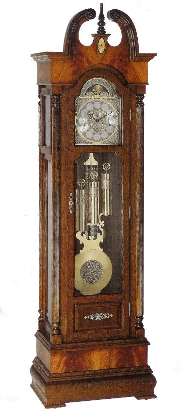 Bulova Grandfather Clock - Swan's Neck Styles