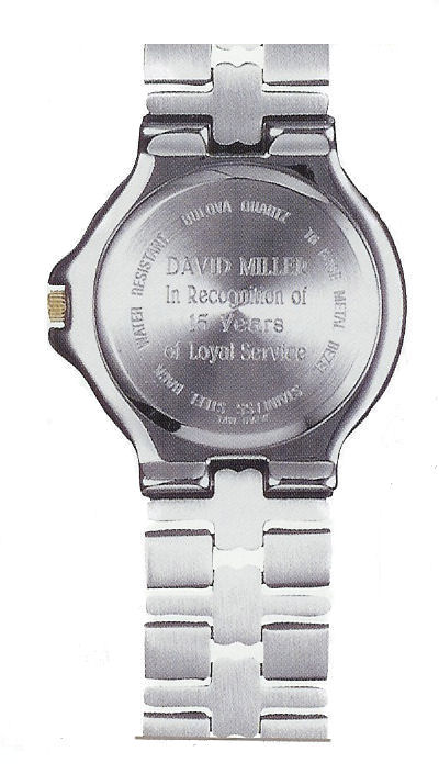Engraved Watches Corporate Gift amp Bulova